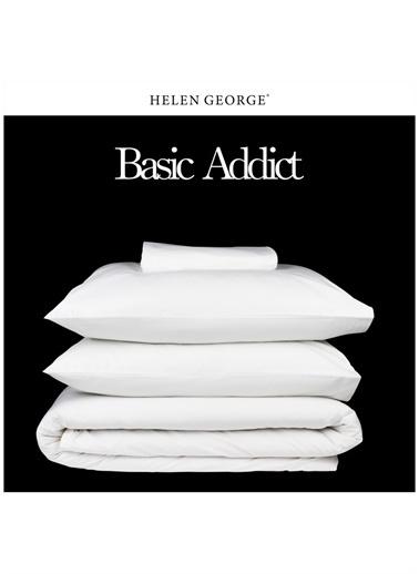 Helen George Nevresim Takımı Beyaz